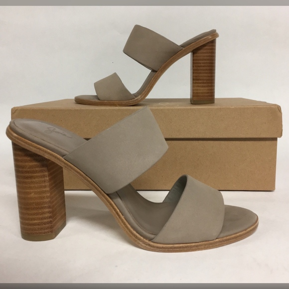 67e1d3d91799 Joie Shoes - Unworn JOIE Banner Slide Leather Sandals Heels